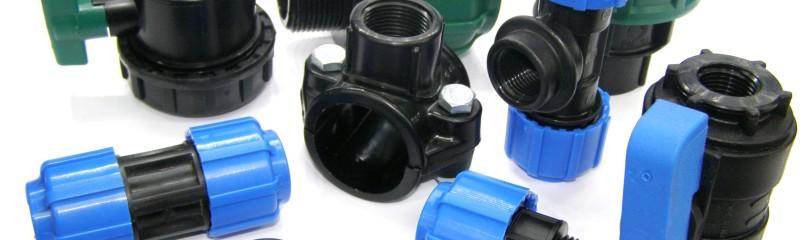 Фитинги для труб ПНД для холодного водоснабжения