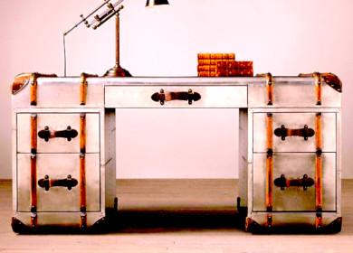 Мебель из металла: преимущества