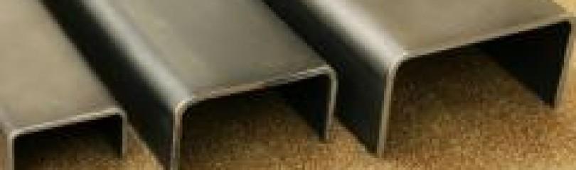 Алюминиевый швеллер П-образный
