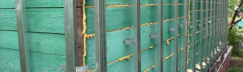 Обрешетка под сайдинг из металлопрофиля своими руками