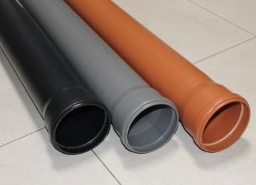 Диаметр и размеры канализационных труб