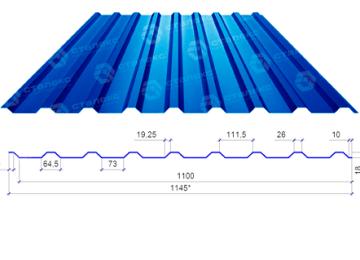Металлопрофиль для крыши: особенности материала и правила выбора
