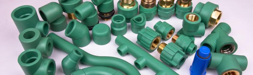 Соединение пластиковых труб фитингами между собой