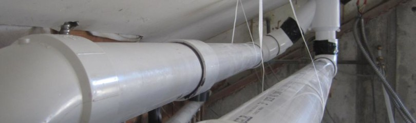 Вентиляция из пластиковых канализационных труб своими руками