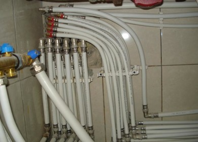 Водопровод из пластиковых труб своими руками
