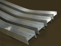 H-образный алюминиевый брус