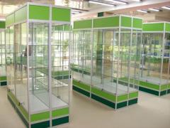 Двутавры в производстве витрин