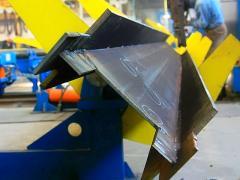 Производство H-образной балки