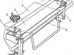 Станок для гибки листового металла чертеж 1