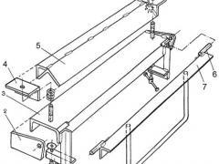 Станок для гибки листового металла чертеж 2