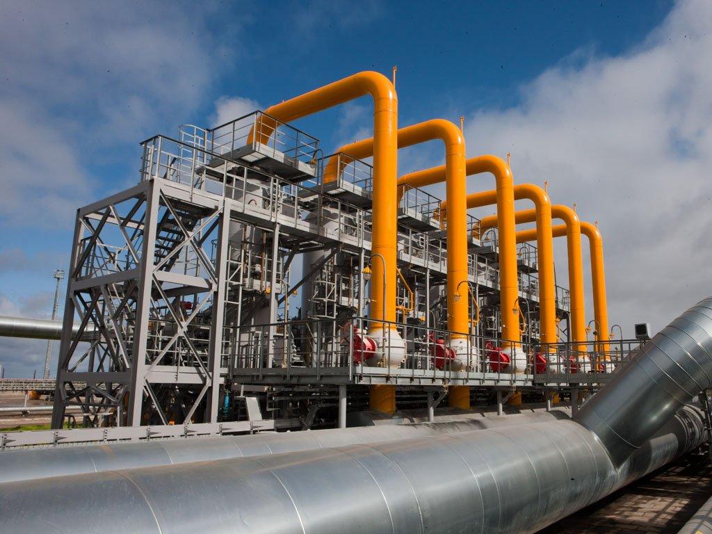 Трубы магистрального газопровода
